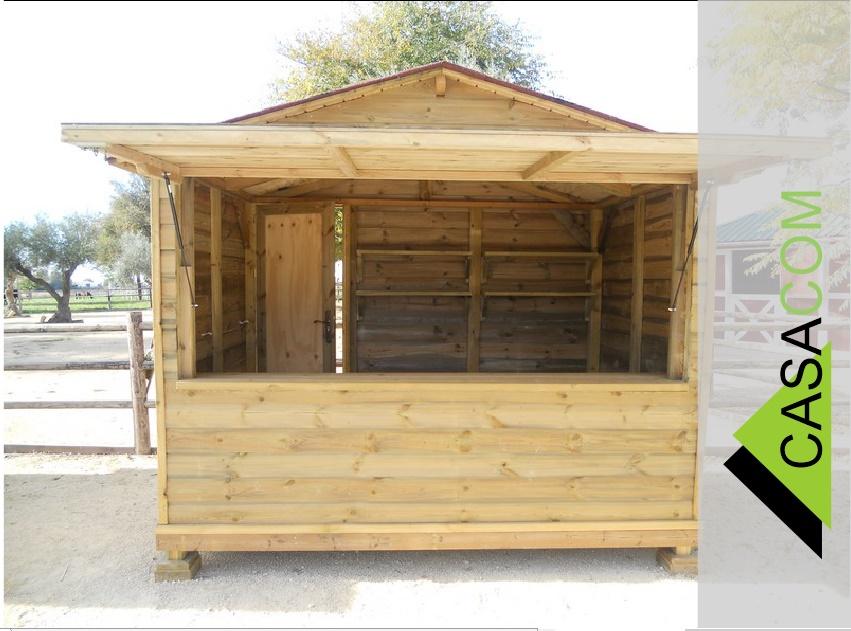 Casacom fabricacion de kioscos de madera en lima peru for Kioscos prefabricados de madera