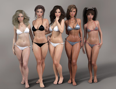 Genesis 3 Female Morph Package