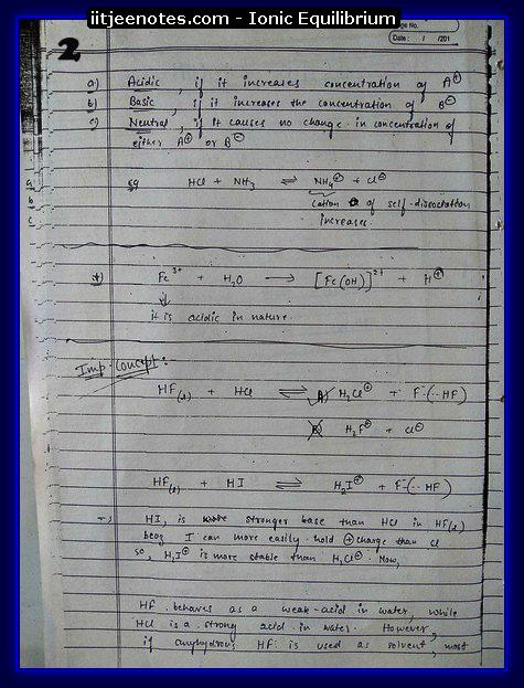 Ionic Equilibrium2