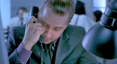 Giovanni Ribisi in BOILER ROOM, inspired by the same events depicted in THE WOLF OF WALL STREET
