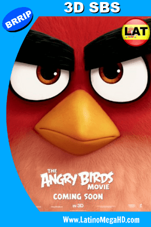 Angry Birds: La Película (2016) Latino Full 3D SBS 1080P ()