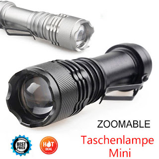 5000LM CREE Q5 AA/14500 3 Modes ZOOMABLE LED Super Bright Flashlight MINI Torch