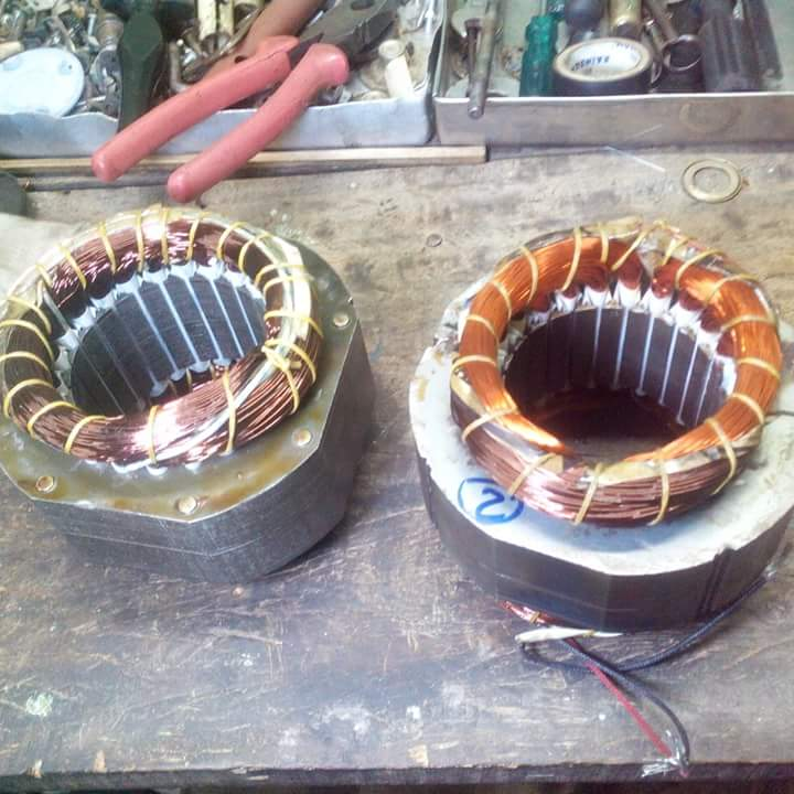 all types of motor winding/coil, details/formulas/details, much more ...