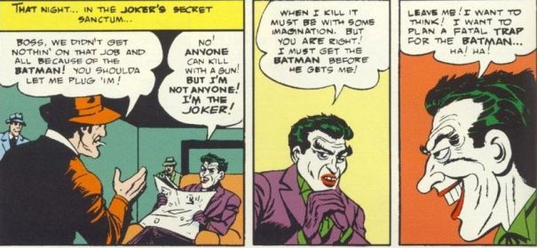 Gotham Alleys: Batman/Joker Relationship on paper and screen