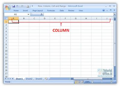 Column Microsoft Excel