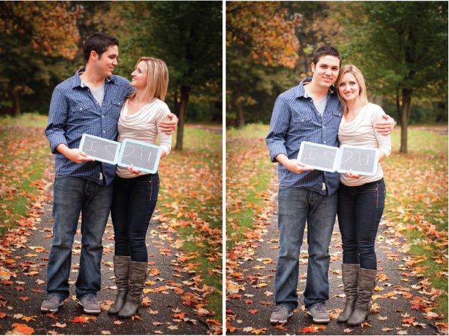 A Fall Engagement Session: Tiffany + Tim
