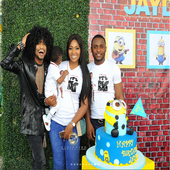 Ubi-Franklin-Lilian-Esoro-son-Jayden-birthday
