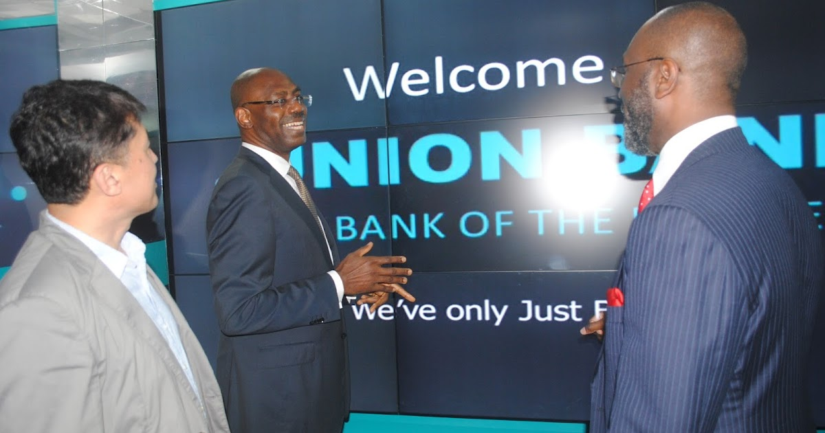 Union Bank Nigeria Home Page