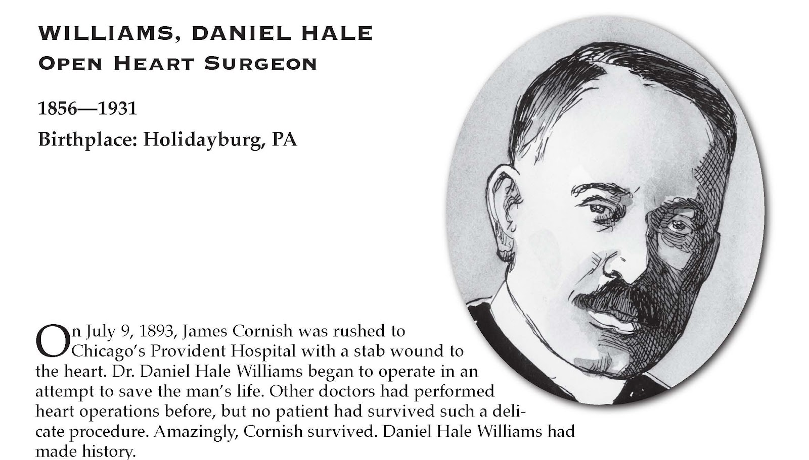 Words From Murphy Browne Dr Daniel Hale Williams