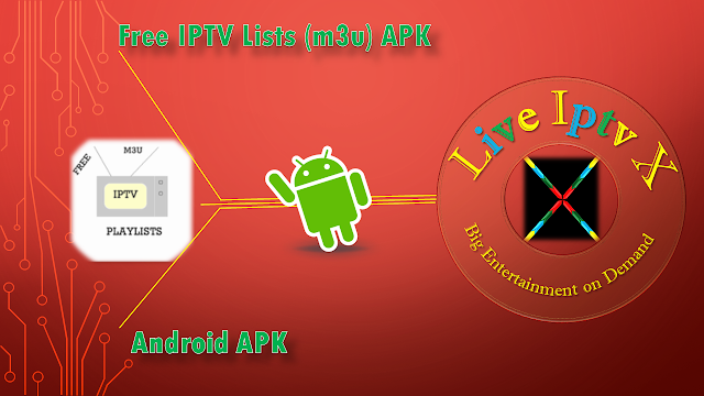 Free IPTV Lists (m3u) APK