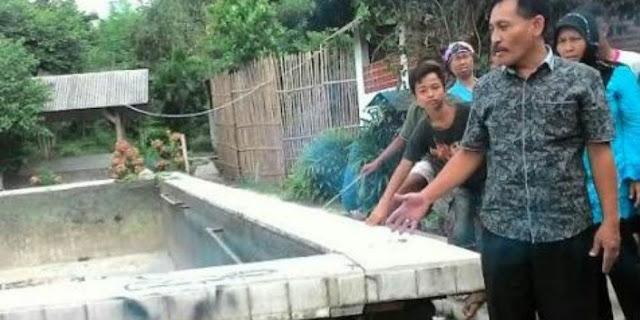 Aneh Tapi Nyata, Kolam Renang Ini Mendadak Naik 1,2 Meter, Warga Pun Geger