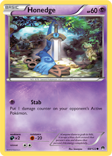 Honedge BREAKpoint Pokemon Card