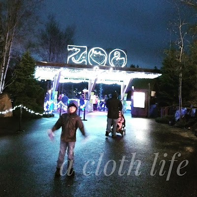 Christmas Traditions: ZooLights at the Oregon Zoo