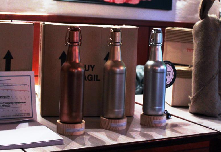 Empresas cerveceras que patrocinan el Concurso Homebrewer y sus premios