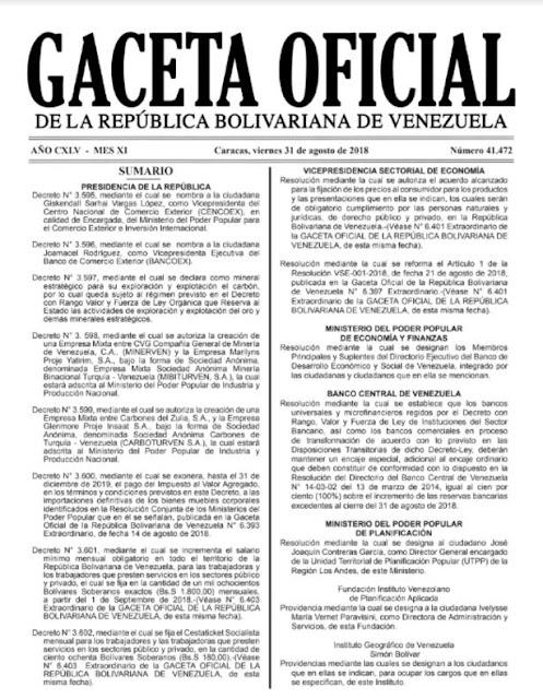 En Gaceta Oficial: Cestaticket será de 180 bolívares soberanos, 10% del salario mínimo