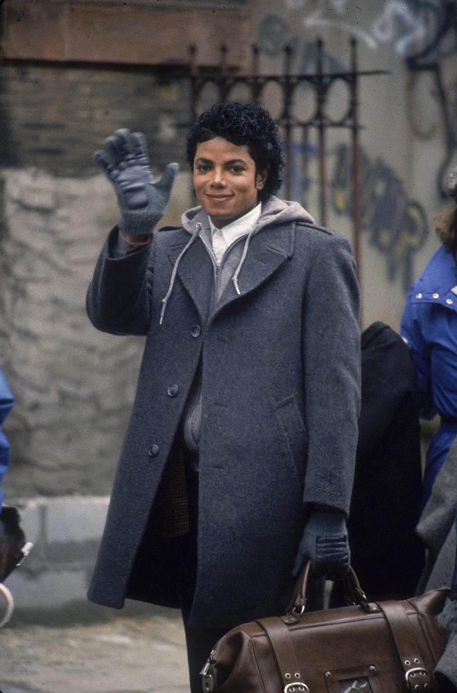 Rare Behind the Scenes Photos of Michael Jackson While Filming the ...