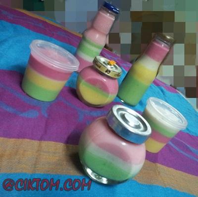 Resepi Mudah Puding Sedut/ Siruk/ Paddle Pop
