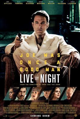 Poster película Vivir de Noche