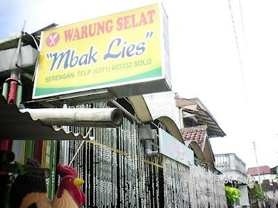 Warung Selat Mbak Lies Solo