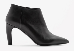 Cos Pointed Leather Booties