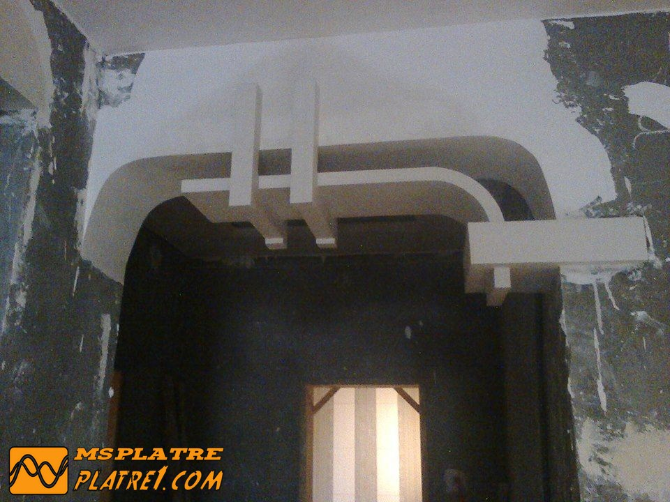 Mus e d 39 art moderne de la ville de paris arc ms timicha for Decoration plafond platre france