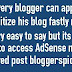 How to Approved Fast In Adsense Tips