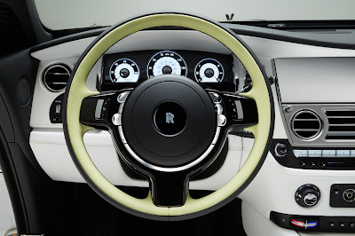 Rolls-Royce Dawn Fashion Inspired special stearing wheel