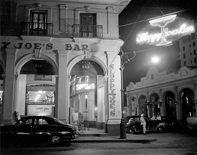 Curiosidades del famoso bar cubano Sloppy Joes