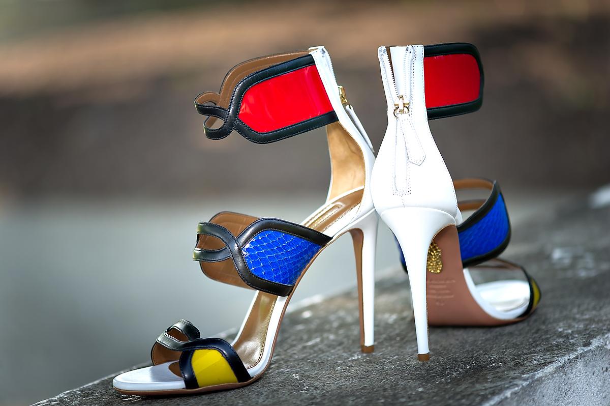 Aquazzura ankle strap sandal