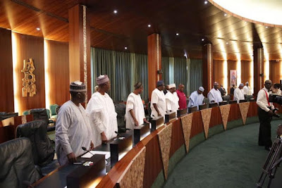 President Buhari meets the Nigeria Governors Forum Queries Governors on Inability of States to Pay Salaries despite Bail-Out