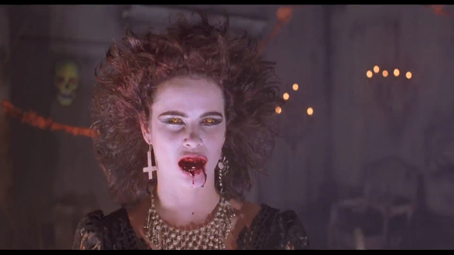 NIGHT OF THE DEMONS: Demon possessed Angela Franklin