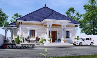Desain rumah mewah Klasik Modern