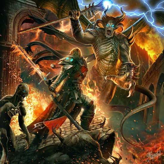 Dusan Markovic deviantart ilustrações fantasia ficção sombria terror monstros magia demônios
