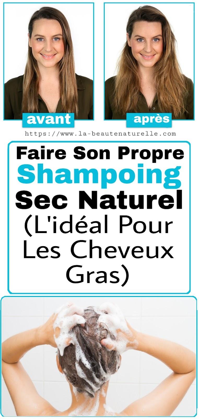 Faire Son Propre Shampoing Sec Naturel (L'idéal Pour Les Cheveux Gras)