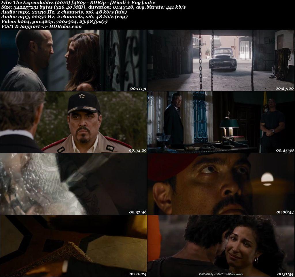 The Expendables (2010) [480p - BDRip - [Hindi + Eng] Screenshot