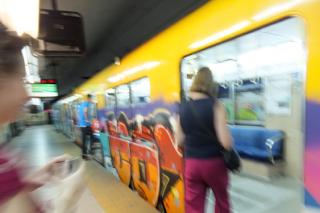 subway (subte) Buenos Aires