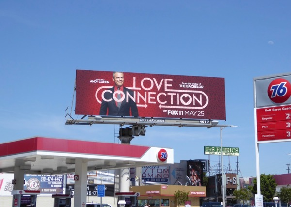 Love Connection launch billboard
