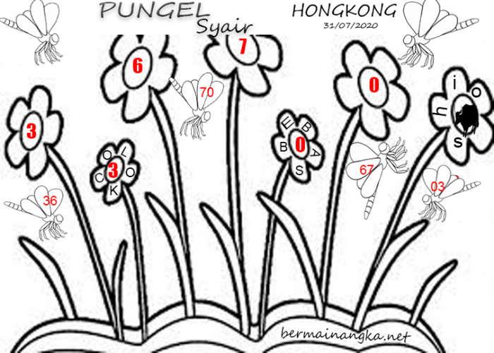 Kode syair Hongkong Jumat 31 Juli 2020 130