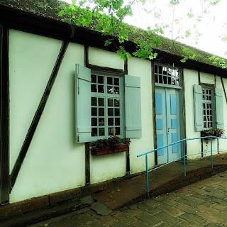 Casa em estilo enxaimel restaurada, Ivoti
