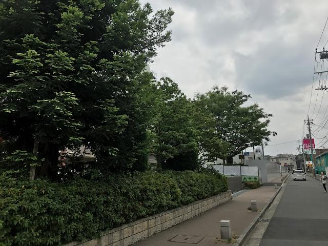 パークシティLaLa横浜の解体工事状況!建物は足場で外観が見えない状況(2017年6月)