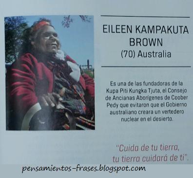 frases de Eileen Kampakuta Brown