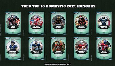 TDEU Top 10 Domestic 2017: HUNGARY