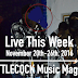 Live This Week: November 20th-26th, 2016
