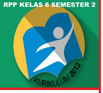 GAMBAR RPP KELAS 6 SEMESTER 2 REVISI 2019