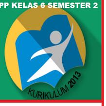 RPP k13 sd Kelas 6 Revisi 2019 Semester 2 Tema 8 Bumiku