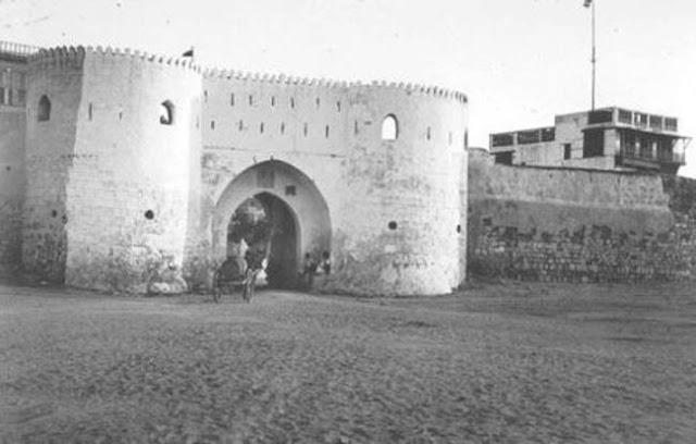 باب المدينة المنورة 1917م