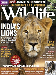 BBC Wildlife Magazine January 2017