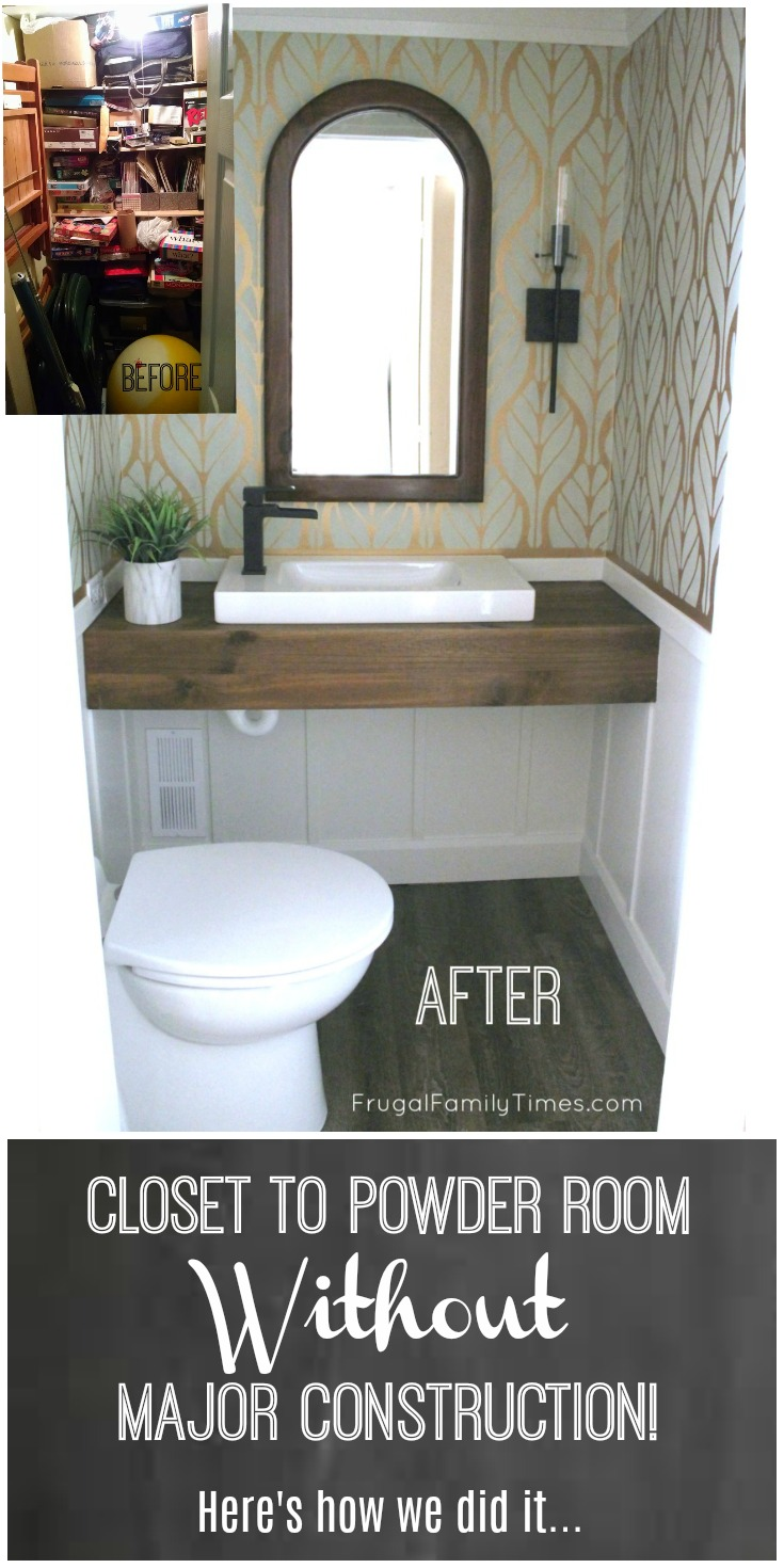 So I Wrote This Post To Help You Add A Bathroom Without Major Construction.  I Learned A LOT. Below I Share My Tips And Tutorial On How To Install A  Saniflo ...