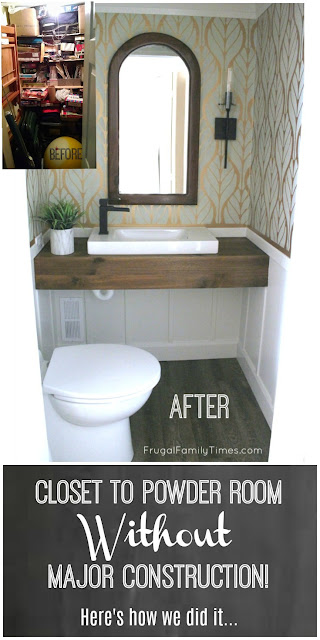 Diy How We Made A Bathroom In Our Basement Without