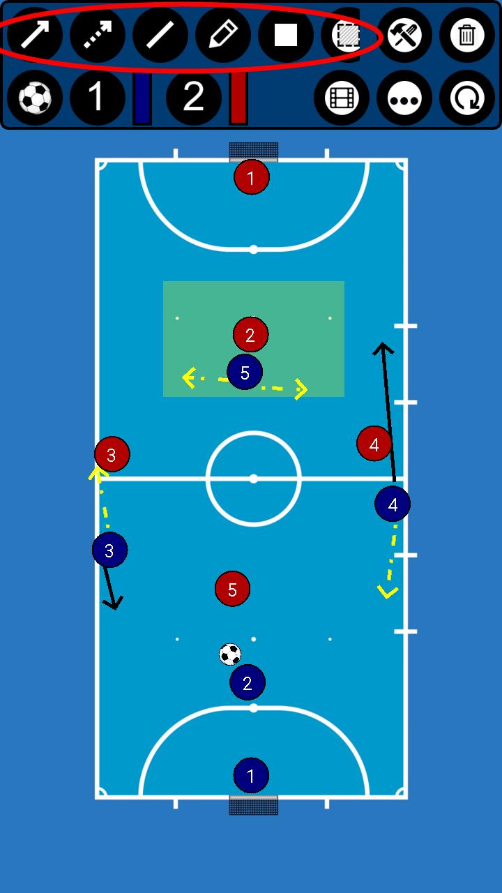 Formasi Futsal 5 Pemain : formasi, futsal, pemain, Membuat, Formasi, Strategi, Futsal, Android, Albar, Blog's